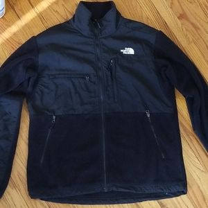The North Face mens softshell jacket, size large
